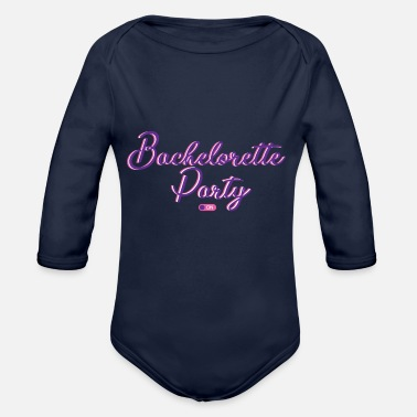 Hen Party Hen party | Party celebration wedding - Organic Longsleeve Baby Bodysuit