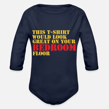 Bedroom bedroom - Organic Long-Sleeved Baby Bodysuit