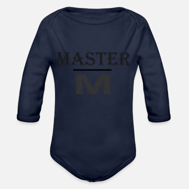 Master master - Organic Long-Sleeved Baby Bodysuit
