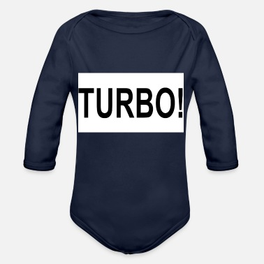Turbo Turbo! - Baby Bio-Langarm-Body