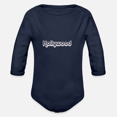 Hollywood hollywood - Vauvan pitkähihainen body