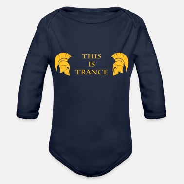 Trance This is Trance - Organic Long-Sleeved Baby Bodysuit