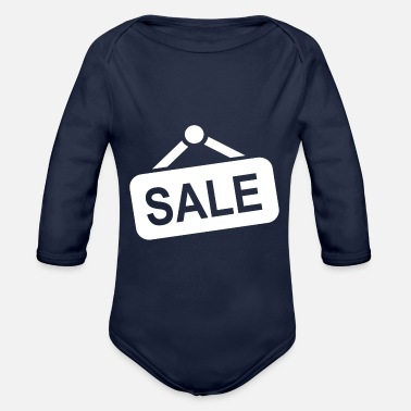 Sale For sale - Organic Long-Sleeved Baby Bodysuit