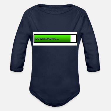 Download downloading - Organic Long-Sleeved Baby Bodysuit