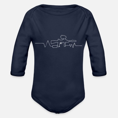 Paintball Paintball - Organic Long-Sleeved Baby Bodysuit