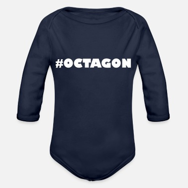 Octagon #OCTAGON - Organic Long-Sleeved Baby Bodysuit