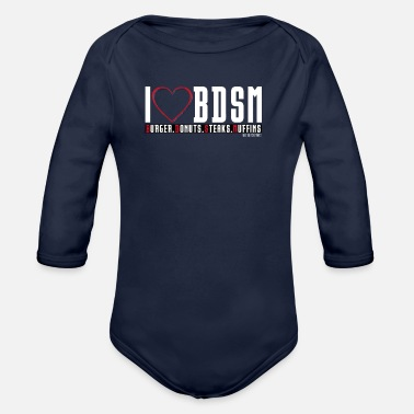 Bdsm BDSM - Organic Long-Sleeved Baby Bodysuit