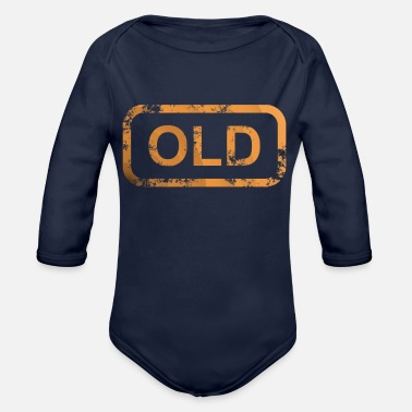 Old OLD - Organic Long-Sleeved Baby Bodysuit