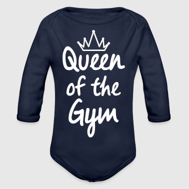 Queen of the gym - Ekologisk långärmad babybody