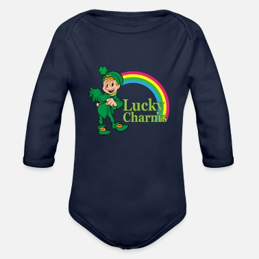 Lucky Charm Lucky charms - Organic Long-Sleeved Baby Bodysuit