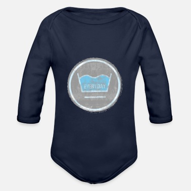 Wash to wash - Organic Long-Sleeved Baby Bodysuit