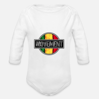 Movement Reggae Movement - Baby Bio Langarmbody