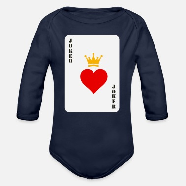 Joker joker - Organic Long-Sleeved Baby Bodysuit