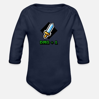 DMG+1 - Organic Long-Sleeved Baby Bodysuit