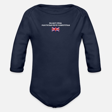 Steal Don't Steal - Organic Long-Sleeved Baby Bodysuit
