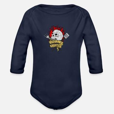 Nyc Hell's Kitchen - Organic Longsleeve Baby Bodysuit
