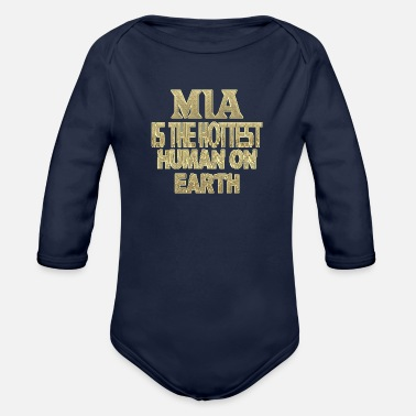 Mia Mia - Organic Long-Sleeved Baby Bodysuit