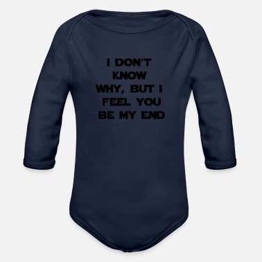 Quotes Quote - Organic Long-Sleeved Baby Bodysuit