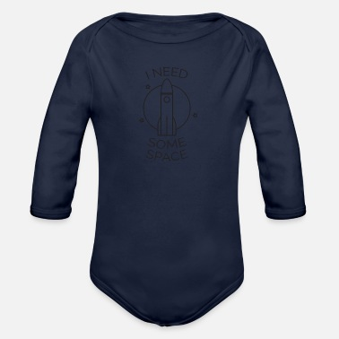 Space Space Gift Rocket Space Astronaut All - Organic Long-Sleeved Baby Bodysuit
