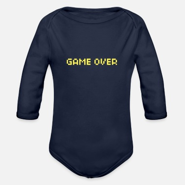 Game Over Game Over - Baby Bio Langarmbody