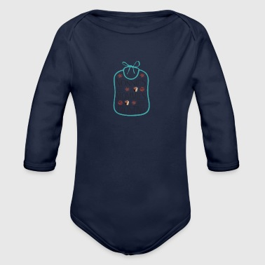 Grandmothers are mothers with frosting - Organic Longsleeve Baby Bodysuit