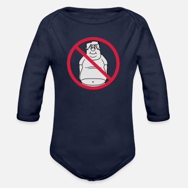 Clip Art No Shield No Man Fat Dick Clip Art Comic - Organic Longsleeve Baby Bodysuit