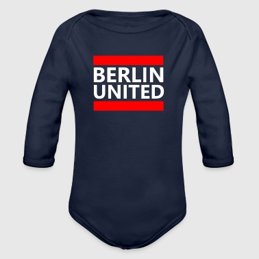 Berlin United - Baby Bio-Langarm-Body