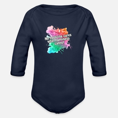 Happiness hapiness - Body Bébé bio manches longues