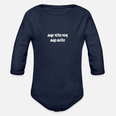 Bathroom BATHROOM TOYS FOR BATH BOYSW - Organic Longsleeve Baby Bodysuit