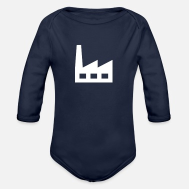 Factory factory - Organic Long-Sleeved Baby Bodysuit