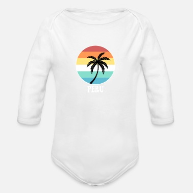 Peru Peru - Organic Long-Sleeved Baby Bodysuit