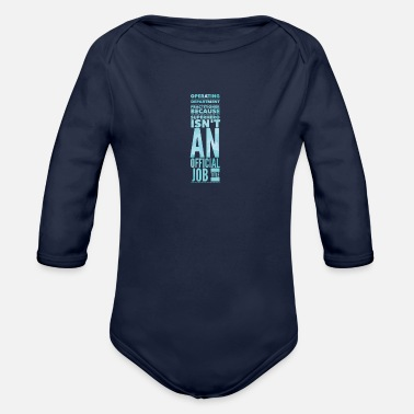 Operating Department Practice Superhero 2 - Organic Long-Sleeved Baby Bodysuit