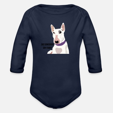 Humour Dog Humour - Organic Long-Sleeved Baby Bodysuit