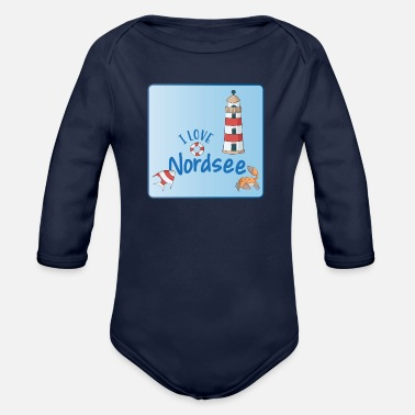 North Sea North Sea - Organic Long-Sleeved Baby Bodysuit
