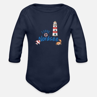 North Sea North Sea - Organic Longsleeve Baby Bodysuit