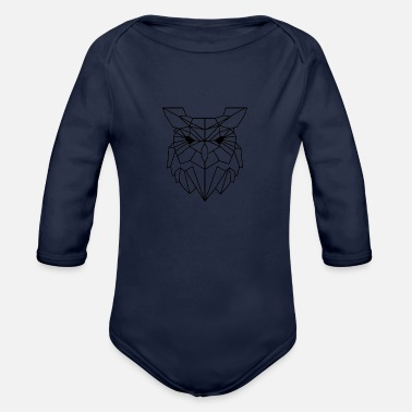 Animal Collection Animal Collection: The Owl - Organic Long-Sleeved Baby Bodysuit