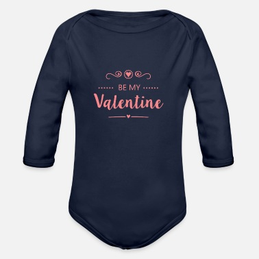 Be My Valentine Be my Valentine - Baby Bio Langarmbody