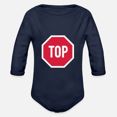 TOP sign - Organic Long-Sleeved Baby Bodysuit