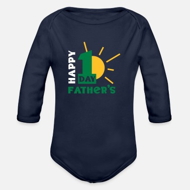 Father's Day - Organic Long-Sleeved Baby Bodysuit
