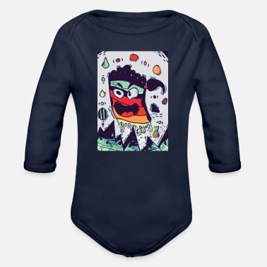 Comic Comic - Organic Long-Sleeved Baby Bodysuit