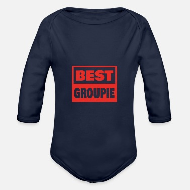 Groupie Style Best Groupie - Baby Bio Langarmbody