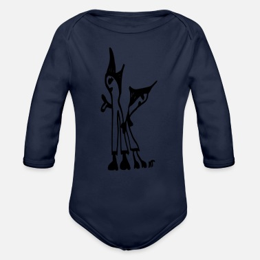 Two the two - Organic Long-Sleeved Baby Bodysuit