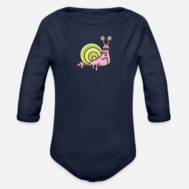 Parade snails Parade - Organic Long-Sleeved Baby Bodysuit