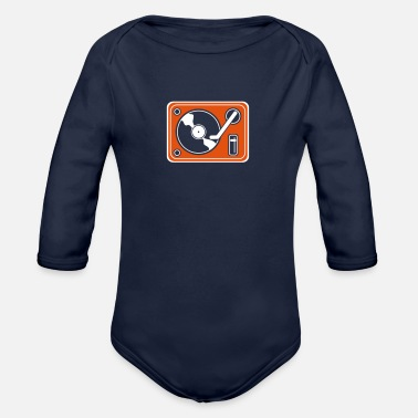 Turn Table Turn The Table - Organic Long-Sleeved Baby Bodysuit