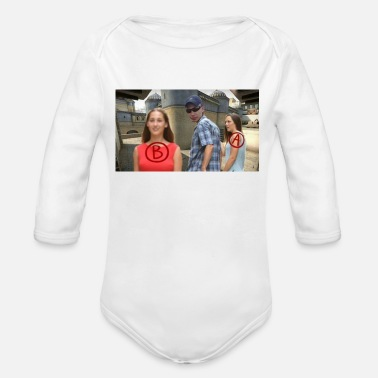 Rush cs go Rush B - Organic Long-Sleeved Baby Bodysuit