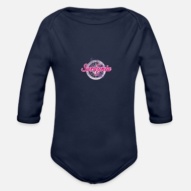 Sardinia for travelers - Organic Long-Sleeved Baby Bodysuit