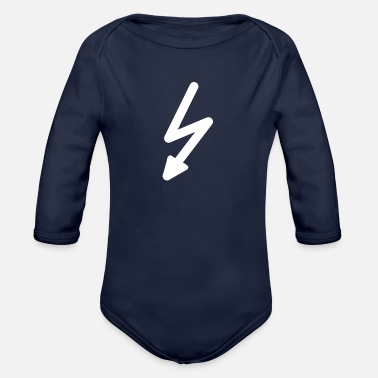Lightning lightning - Organic Long-Sleeved Baby Bodysuit