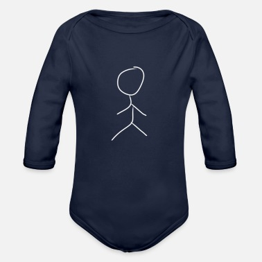 Male Male - Organic Long-Sleeved Baby Bodysuit