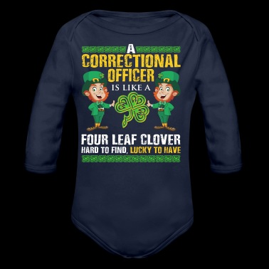 Funny St Patrick's Correctional Officer - Baby Bio-Langarm-Body