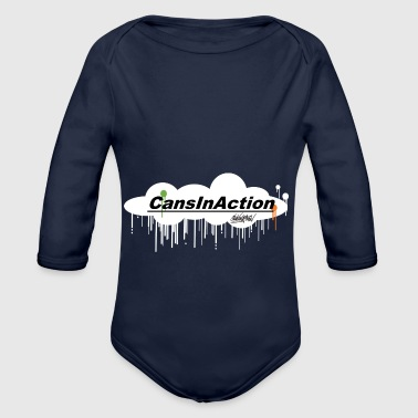 CansInAction Cloud # 1 - Baby bio-rompertje met lange mouwen